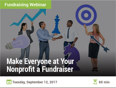 Make Everyone at Your Nonprofit a Fundraiser