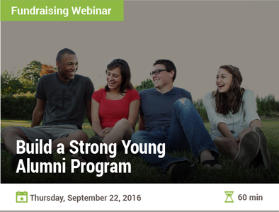 Build a Strong Young-Alumni Program