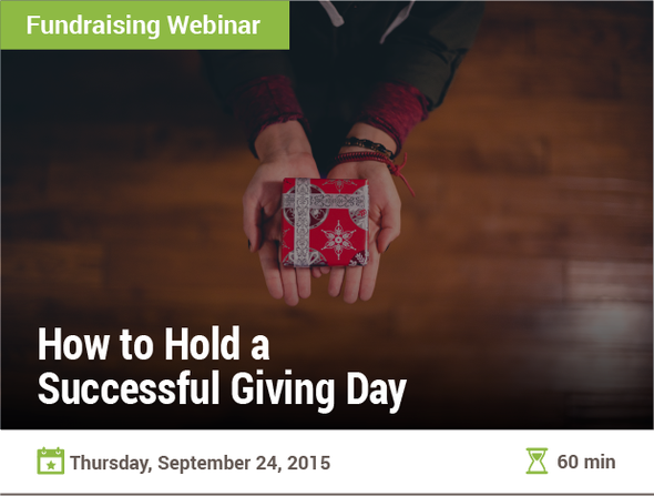 How to Hold a Successful Giving Day