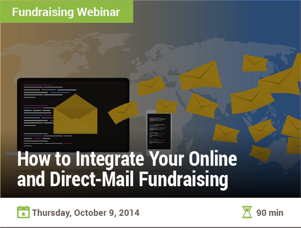 How to Integrate Your Online and Direct-Mail Fundraising