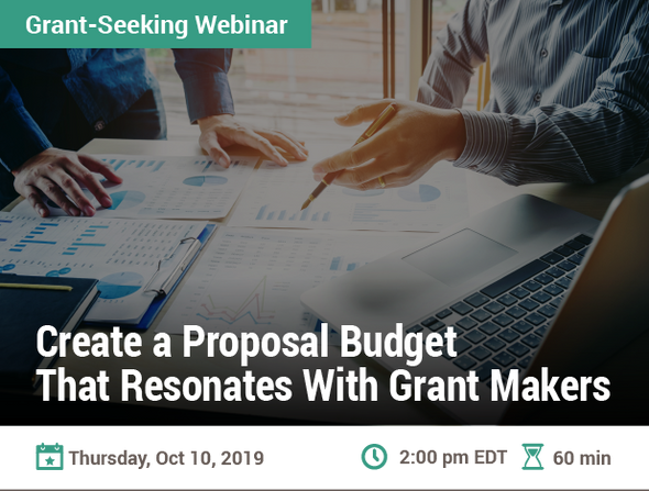 Create a Proposal Budget That Resonates With Grant Makers