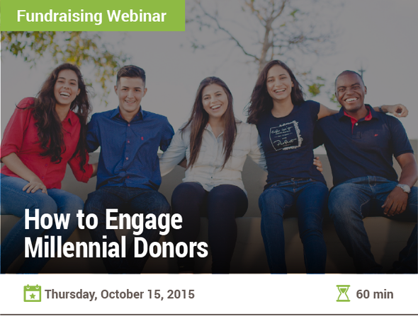 How to Engage Millennial Donors