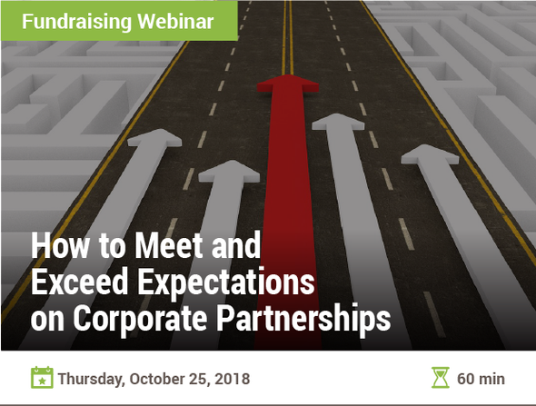 How to Meet and Exceed Expectations on Corporate Partnerships
