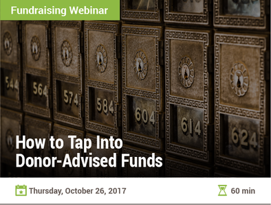 How to Tap Into Donor-Advised Funds