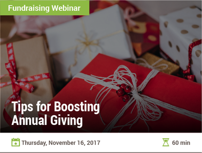 Tips for Boosting Annual Giving