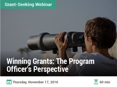 Winning Grants: The Program Officer's Perspective