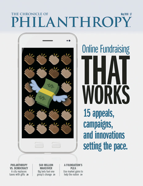 The Chronicle of Philanthropy, May 2018