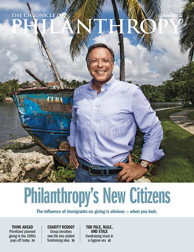 The Chronicle of Philanthropy, October 2018