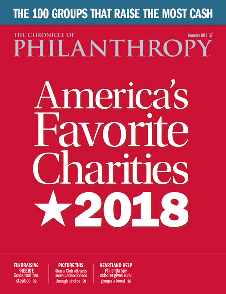 The Chronicle of Philanthropy, November 2018