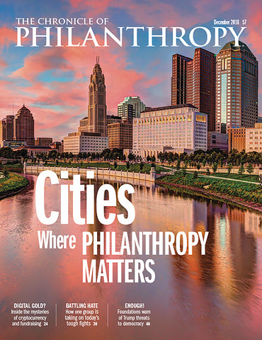 The Chronicle of Philanthropy, December 2018
