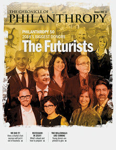 The Chronicle of Philanthropy, February 2019