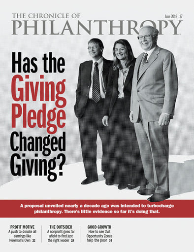 The Chronicle of Philanthropy, June 2019