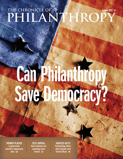 The Chronicle of Philanthropy, October 2019