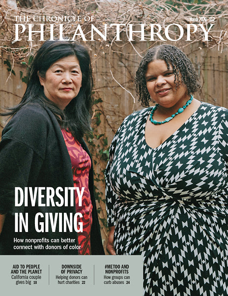 The Chronicle of Philanthropy, March 2020