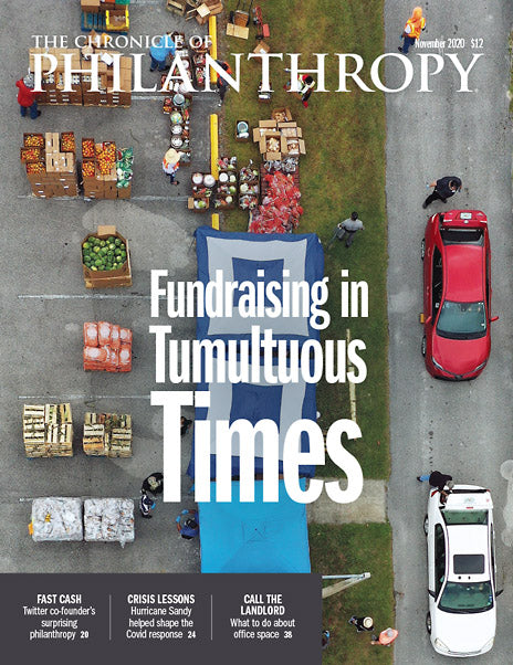 The Chronicle of Philanthropy, November 2020