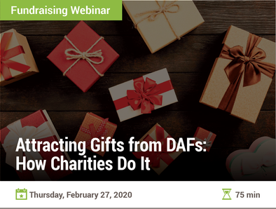 Attracting Gifts from DAFs: How Charities Do It