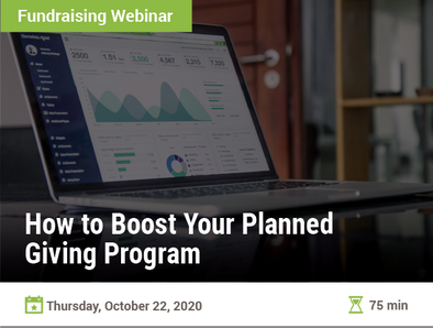 How to Boost Your Planned Giving Program