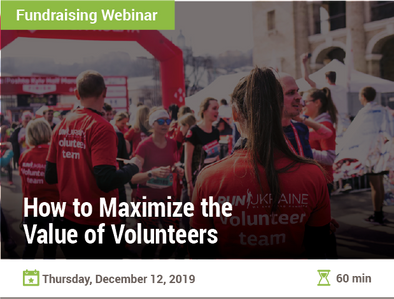 How to Maximize the Value of Volunteers