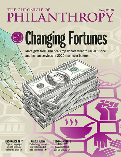 The Chronicle of Philanthropy, February 2021