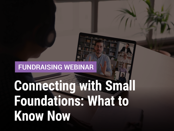 Connecting with Small Foundations: What to Know Now