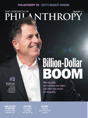 The Chronicle of Philanthropy, February 2018