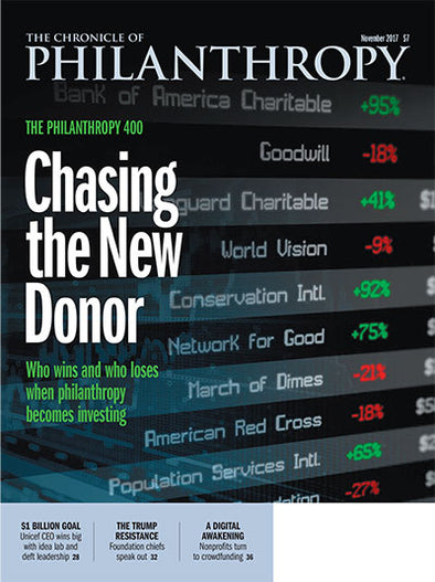The Chronicle of Philanthropy, November 2017