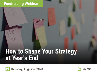 How to Shape Your Strategy at Year's End