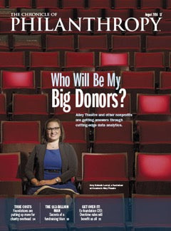 The Chronicle of Philanthropy, August 2016