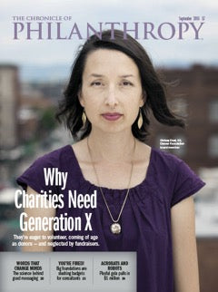 The Chronicle of Philanthropy, September 2016