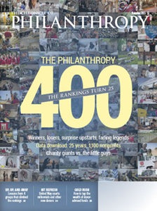The Chronicle of Philanthropy, November 2015