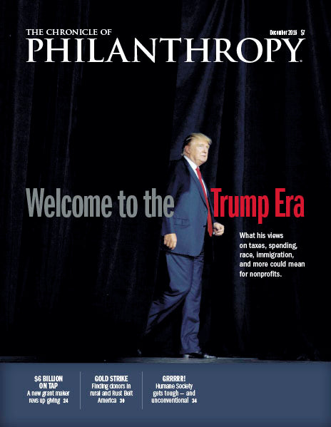 The Chronicle of Philanthropy, December 2016