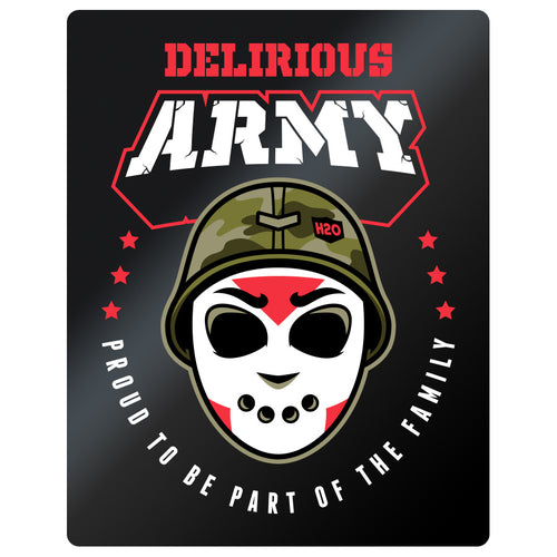 Delirious Army Window Sticker