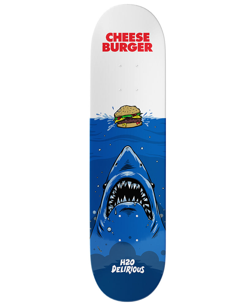 Cheeseburger Skateboard Deck