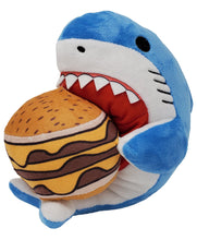 Cheeseburger Shark Plushie