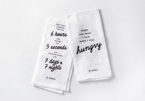 Tovala Tea Towels (Limited Edition, Pack of 2)