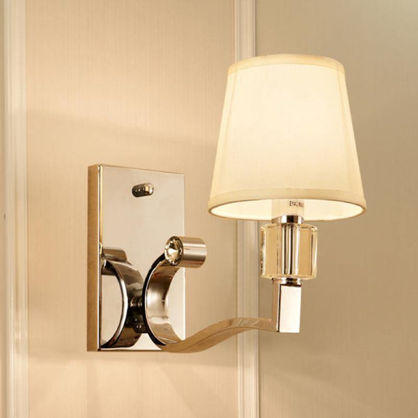 7PM Lang Wall Lamp Chrome Finish
