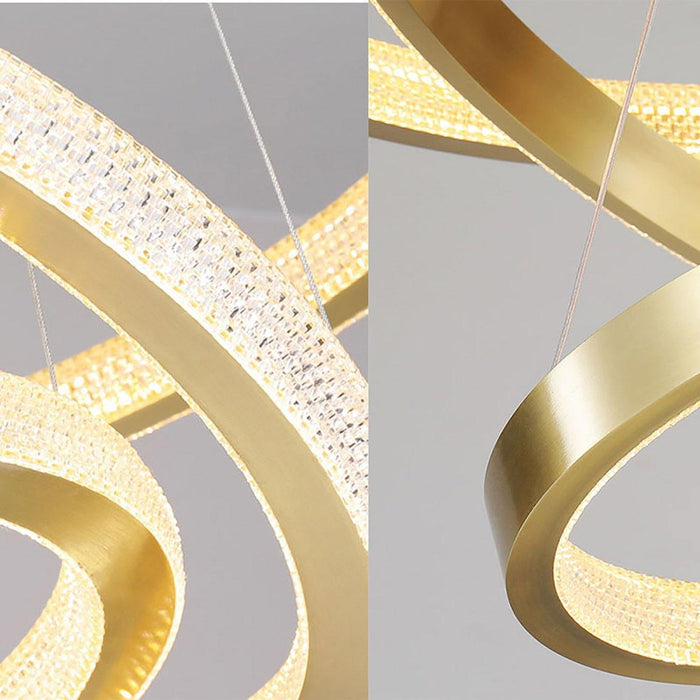 Details For Round Pendant Light Gold