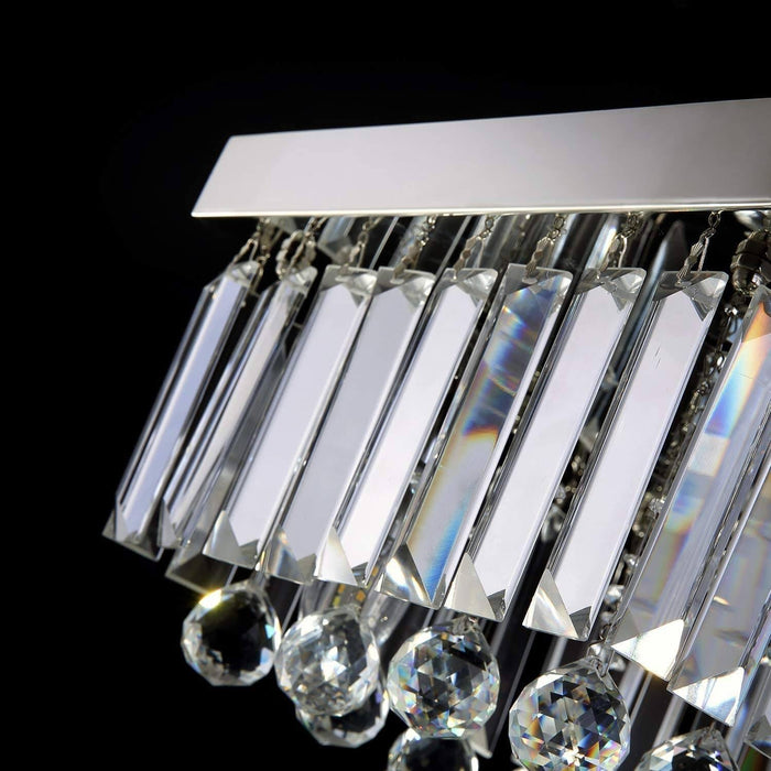 7PM Square Crystal Mini Ceiling Light-Details