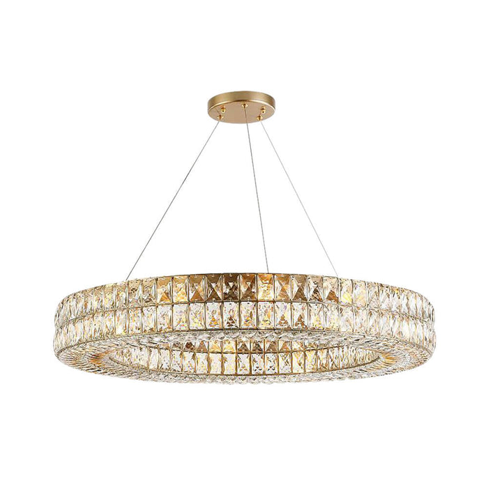 Affordable Crystal Ring Lighting Fixturs Indoor