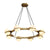 Brass Round Pendant Light