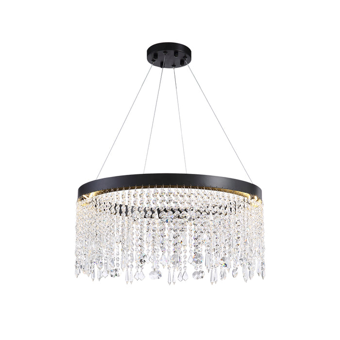Crystal Ring Dining Room Chandelier