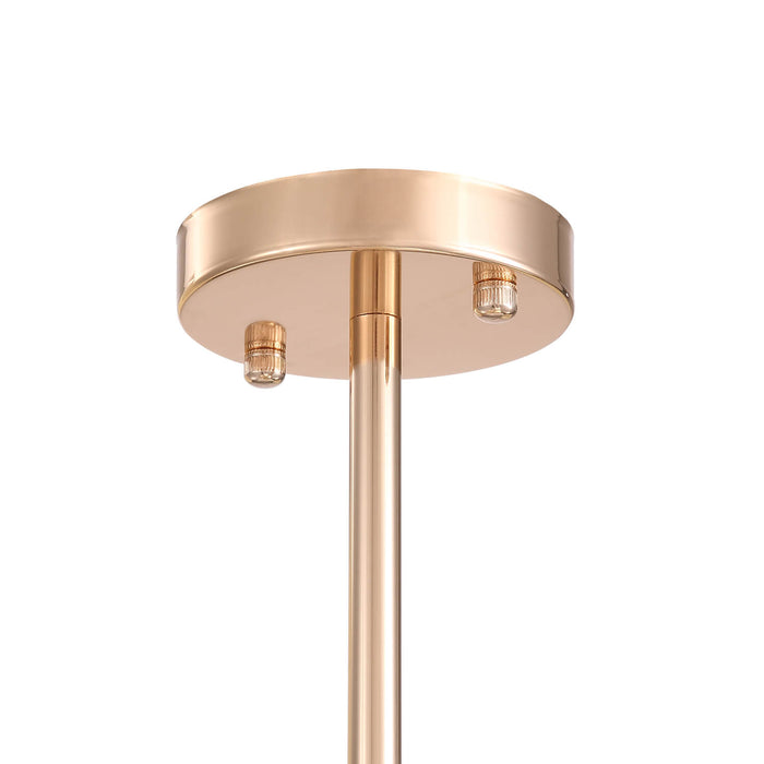 Gold Ball Shaped Pendant Light Detail-3