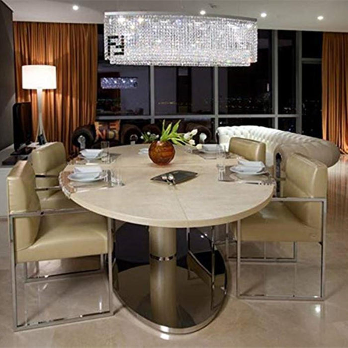 Modern Contemporary Luxury Crystal Chandelier Lighting Fixture - Dining Room
