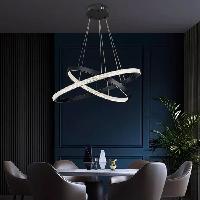 Modern Ring Pendant Light For Dining Room