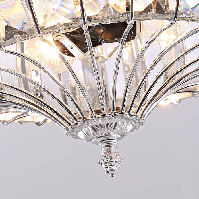 Reversible Ceiling Fan Crystal Detials
