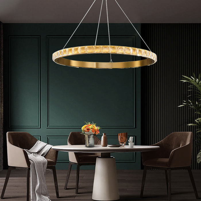 Ring Shaped Dining Room Chandelier