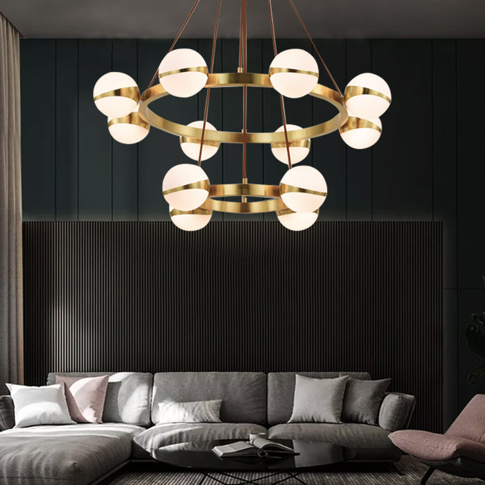 Sphere Chandelier For Living Room
