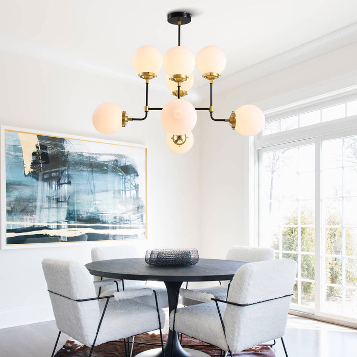 Sputnik Globe Chandelier For Dining Room