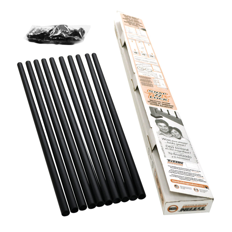 Scratch 'n Dent Snap 'n Lock® Baluster Kit Round + Square
