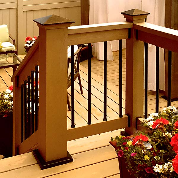 Snap'n Lock Stair Baluster Kit-Round